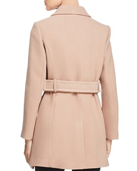 kate spade new york - Belted Double-Breasted Button Front Coat