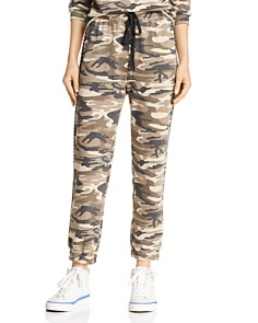 Honey Punch - Studded Camo Jogger Pants
