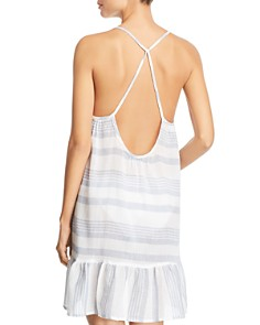 J. Valdi - Sardinia Strappy Ruffled Swim Cover-Up
