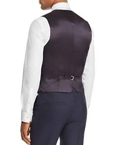 HUGO - Vin Micro-Pattern Slim Fit Suit Vest