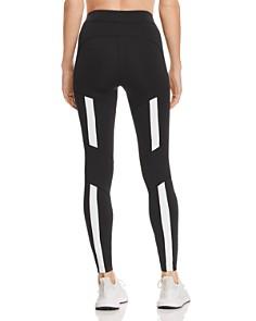Kendall + Kylie - Striped-Back Leggings