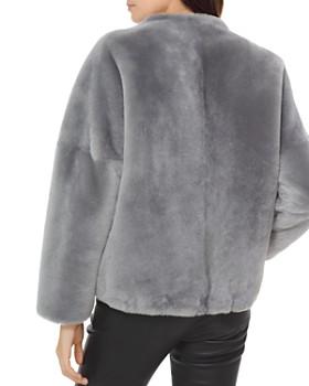 MICHAEL Michael Kors - Cropped Shearling Jacket