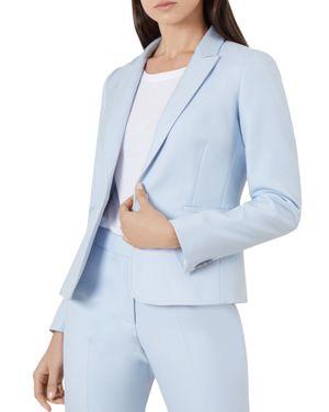 Emma Blazer in Pale Blue
