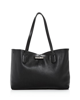 8a801919aa03 Longchamp - Roseau Essential Medium Leather Shoulder Tote ...