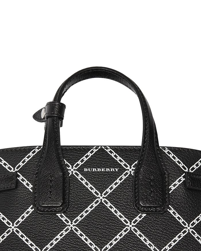 181418ee3a25 Burberry - Link Print Leather Tote
