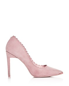 Ted Baker - Women's Sloana Scalloped Pointed-Toe Pumps
