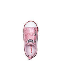 Converse - Girls' Sequin Chuck Taylor All Star 2V Sneakers - Walking Infant, Toddler