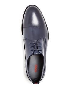 HUGO - Men's Leather Plain-Toe Oxfords