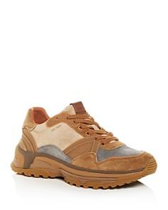 COACH - Men's C413 Color-Block Suede Low-Top Sneakers