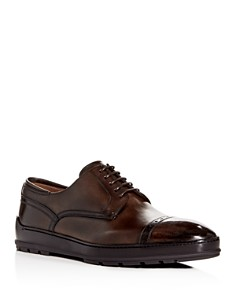 Bally - Men's Reigan Leather Cap-Toe Oxfords