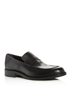 Vince - Men's Barry Leather Apron-Toe Loafers
