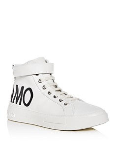 Salvatore Ferragamo - Men's Ayr Leather High-Top Sneakers