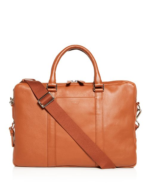 Shinola - Slim Leather Computer Briefcase