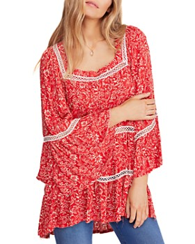 ed31ed7ce54 Free People - Talk About It Floral Print Tunic ...