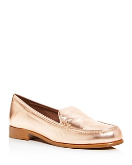 Tabitha Simmons - Women's Blakie Moc-Toe Loafers