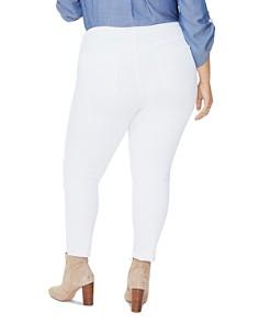 NYDJ Plus - Ami Ankle Skinny Jeans in Optic White