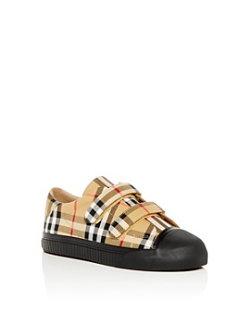 Burberry - Unisex Vintage Check Sneakers - Toddler, Little Kid
