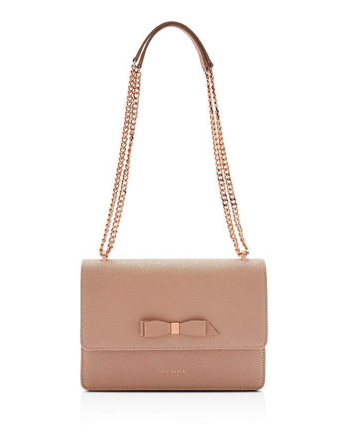 ebb586044 Ted Baker - Joanna Bow Leather Convertible Crossbody