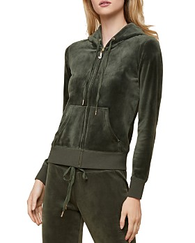 41c68f4aa2f2 Juicy Couture Black Label - Robertson Luxe Velour Hoodie ...