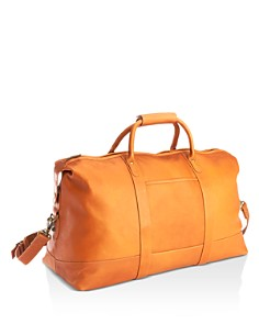 ROYCE New York - Leather Duffel Bag