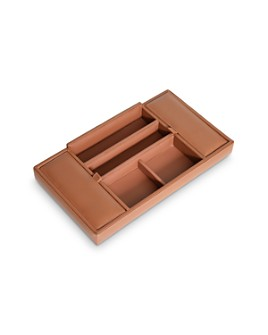 ROYCE New York - Leather Valet Tray
