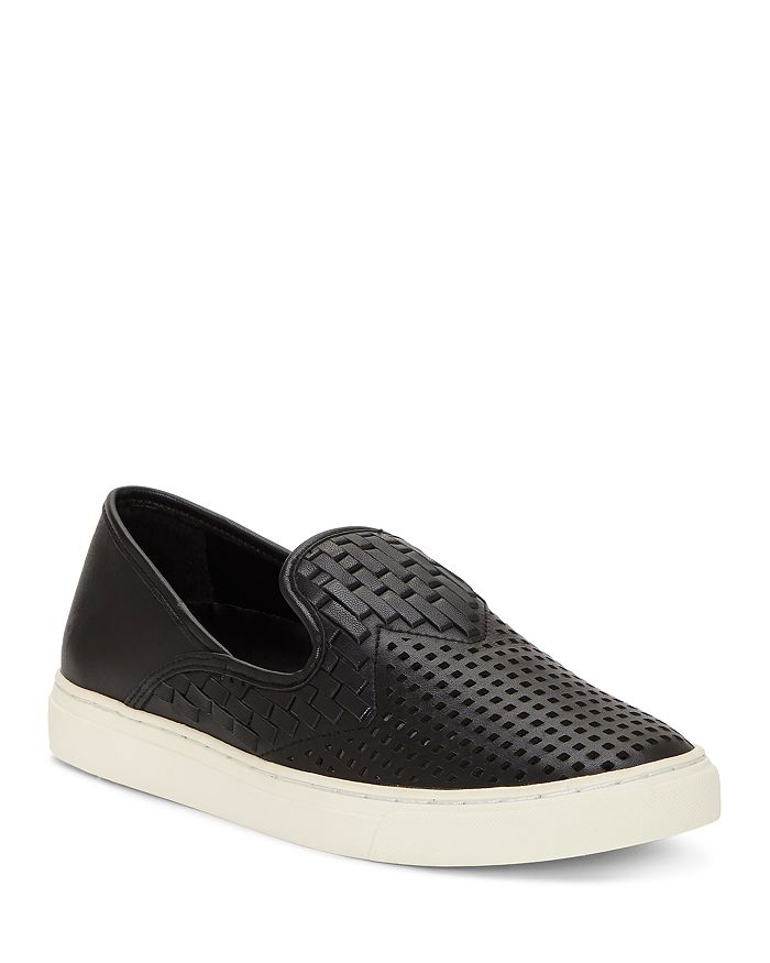 678ae92d3aa VINCE CAMUTO Women s Bristie Woven   Perforated Slip-On Sneakers ...