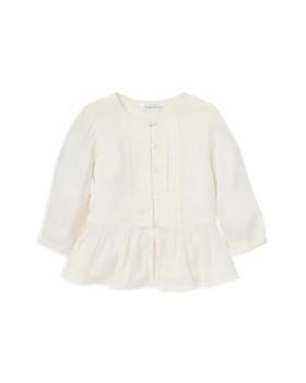 Ralph Lauren - Girls' Gauze Peplum Top - Baby