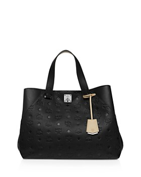 MCM - Essential Monogrammed Leather Tote