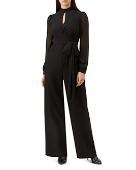 HOBBS LONDON - Vera Wide-Leg Jumpsuit