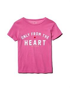 Spiritual Gangster - Girls' Only from the Heart Tee - Little Kid, Big Kid