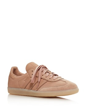 b16b68810fd Adidas - Women s Samba OG Leather   Suede Lace Up Sneakers ...