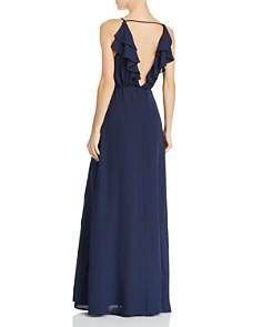 WAYF - Emma Ruffle Wrap Gown