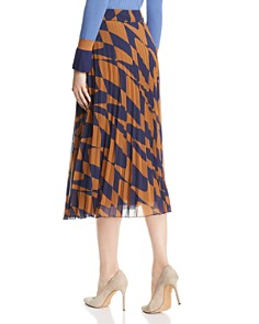BOSS - Matara Geo Print Pleated Skirt