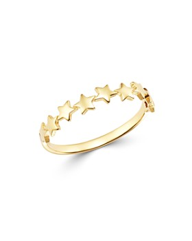 Moon & Meadow - Multi-Star Ring in 14K Yellow Gold - 100% Exclusive
