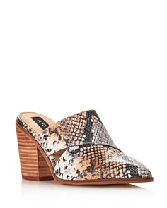 AQUA - Women's Sage High-Heel Mules - 100% Exclusive