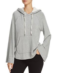 Splendid - Bell-Sleeve Hooded Sweatshirt