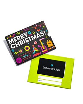 Bloomingdale's - Merry Christmas Gift Cards