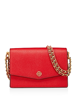 Tory Burch Robinson Mini Leather Convertible Shoulder Bag