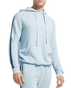 Atm Anthony Thomas Melillo Contrast-Stripe Hooded Sweatshirt