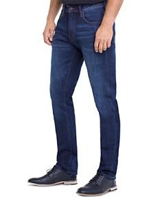 Liverpool - Kingston Straight Slim Fit Jeans in San Ardo Vintage Dark