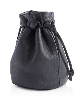 ROYCE New York - Compact Leather Drawstring Jewelry Pouch