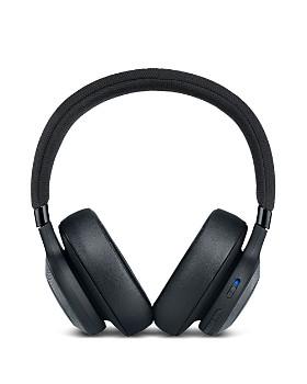 JBL - E65BTNC Wireless Over-Ear Noise-Cancelling Headphones