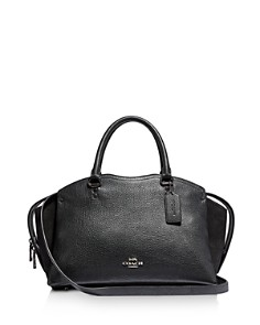 COACH - Drew Leather & Suede Satchel
