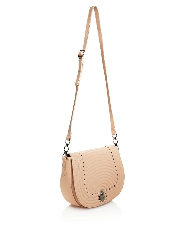 2c45e0f1cbce Longchamp - Cavalcade Quilted Studded Leather Crossbody