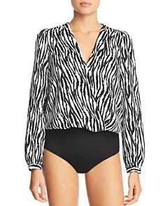 Lucy Paris - Zebra Stripe Bodysuit