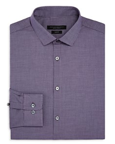 John Varvatos Star USA - Checked Slim Fit Dress Shirt
