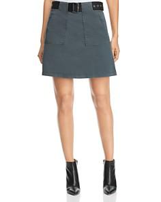 Kenneth Cole - Twill A-Line Mini Skirt