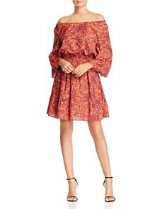 Le Gali - Helene Off-the-Shoulder Floral Dress - 100% Exclusive
