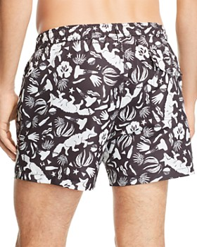 PS Paul Smith - Classic Fox-Print Swim Shorts