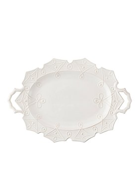 Juliska - Jardins du Monde Whitewash Turkey Platter